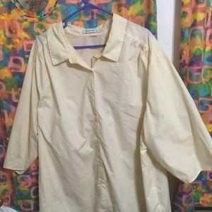 Roamans women's button down blouse